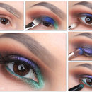 Colorful Smoky eyes
