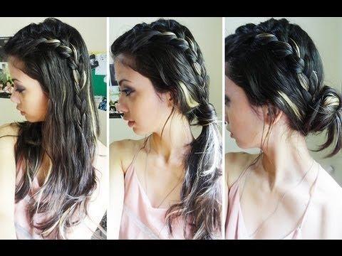 Шитьё по волосам