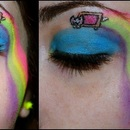 Nyan Cat Make up