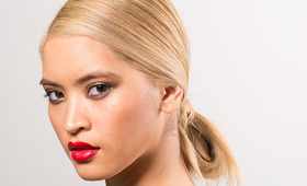 A Party-Perfect Hairstyle That's Truly Easy! Meet The Low Loop Bun