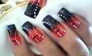 Abstract, Halloween, Starry Night Cross Nail Art Design Tutorial - ♥ MyDesigns4You ♥