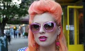 Rainbow Inspiration: On The Streets With The Biggest Hair Trend Of The Season