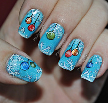 used julep-claire as my base and the rest is all hand painted with acrylic paints