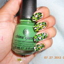Green Cheetah Mani
