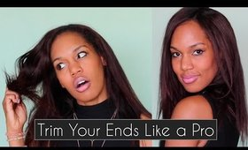 Trim Your Ends Like a Pro { at Home} ◌ alishainc