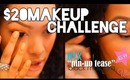 $20 MAKEUP CHALLENGE : Everyday Makeup Look