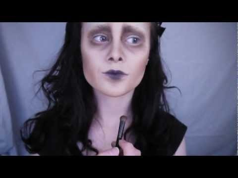 Edward Scissorhands Makeup Tutorial Euphoriccreation Video Beautylish
