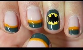 DC Comic Series: Batman Nail Tutorial (Redux)