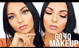 MY GO TO MAKEUP | Chloe Viv