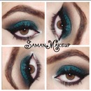 Colorful Smokey Eyes