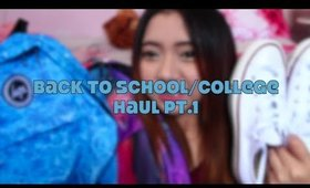 Back to School // College Haul Pt.1 feat Hype, Nike, Converse + More!