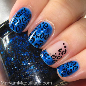 HOW-TO: http://www.maryammaquillage.com/2013/05/leopard-nails-toes.html