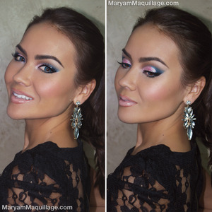 http://www.maryammaquillage.com/2013/12/blue-eyed-brights-holiday-makeup.html