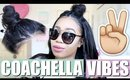 Coachella Inspired Hairstyles | Boho Chicy Dicky Vibes! | BeautybyGenecia