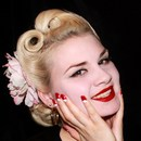 Vintage 1940'S Hair , Makeup And Nails