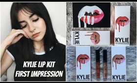 Kylie Lip Kit First Impression | NEW Exposed + 22 Swatches, Worth The Hype?