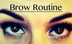 My Eyebrow Routine!!!
