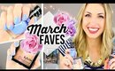 MARCH FAVORITES 2015 || Makeup, YouTubers, Food, Candles