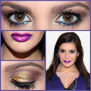 "I did this look for a post on my beauty/fashion blog Glamvasion for a cool ""night out"" look. I hope you enjoy!"