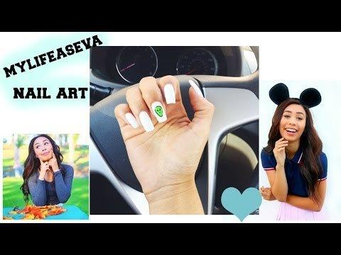 Mylifeaseva Alien Nail Art Mypolish M Video Beautylish