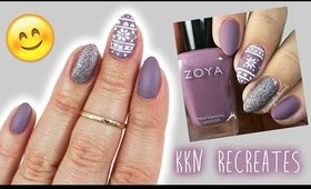 KKN recreates No.11 | Justagirlandhernails Fair Isle Nails ♡