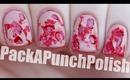 Ripped Flesh Special Effects Halloween Nail Art Tutorial