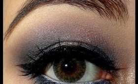 New Years Eve Makeup (Look #1)