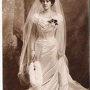 Prinzessin Marie Gabrielle von Bayern als Braut / Crownprincess Marie Gabrielle of Bavaria as bride