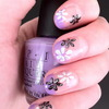 Flower Nail Art OPI Do You Lilac It?