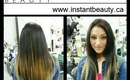 Instant Highlights with Instant Beauty Hair Extensions - Full Head of Clip In Highlights