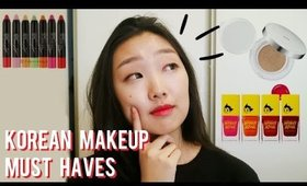 My Korean Makeup Must Haves