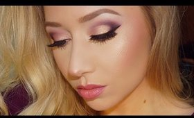Plum Rose Gold Makeup Tutorial | BH Cosmetics Carli Bybel Palette | TheBeautyVault