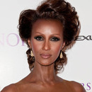 Iman arriving at BET Honors 2011