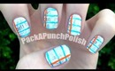 Back To School Newspaper Notebook Nail Art Tutorial