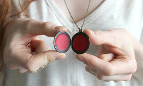 DIY Tinted Lip Balm In A Locket!
