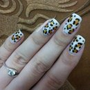 Leopard Twin nails with Ariane P.