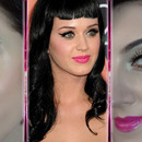 Katy Perry's signature makeup style inspired