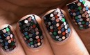 Sequin Nail Art - Colorful how to do sequin nail polish designs at home step by step tutorial video