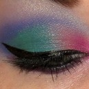 Blended Colorful Eye
