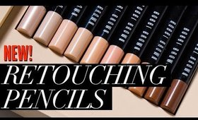 Bobbi Brown Retouching Face Pencils REVIEW!