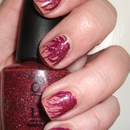 Needle Marbled Nails
