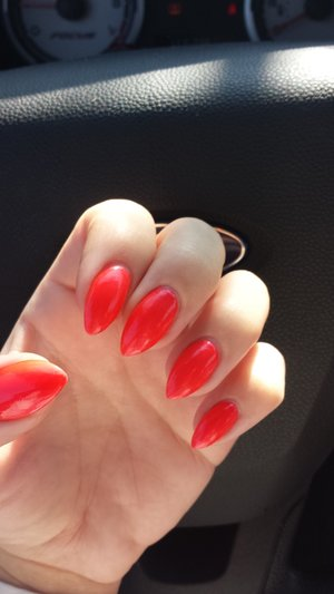 Coral Nails Of The Day. | Beautylish