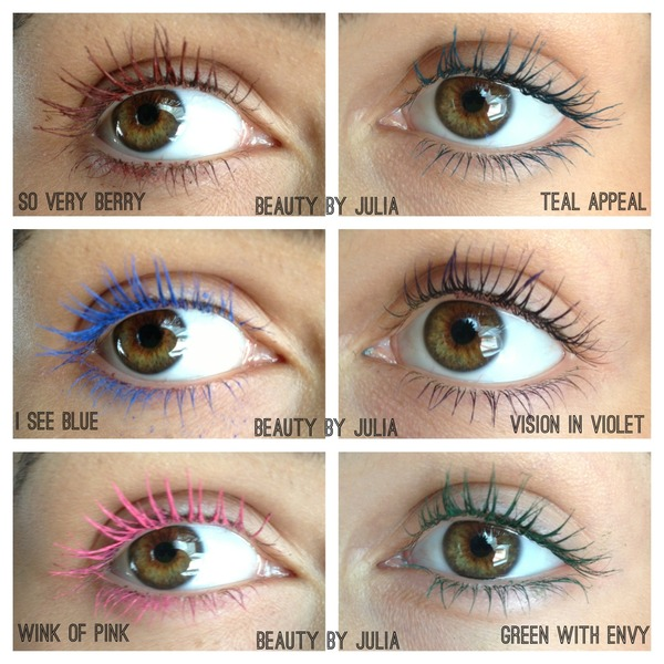 New Maybelline Colored Mascara Julia S S Beautybyjulia