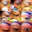 Colorful Eye Tutorial