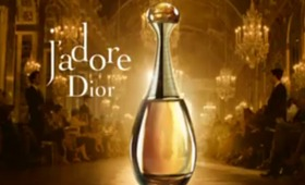 Dior Officially Launches J'Adore Eau de toilette Commercial