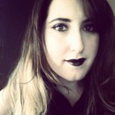It's never a bad day for black lipstick.