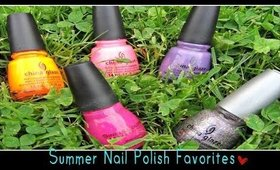 Summer Nail Polish Favorites ♥