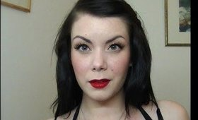 Quick & Easy Classic 50's Pin-up make-up tutorial