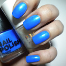 31 Day Challenge - Blue Nails - 05. DAY