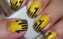 Nail Art - Easy Ruler (Back to School) - Regreso a Clases - Diseño de Regla Facil